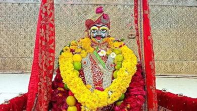 Photo of शिव नवरात्रि महाकाल ने श्रद्धालुओं को छबिना श्रृंगार में दिये दर्शन
