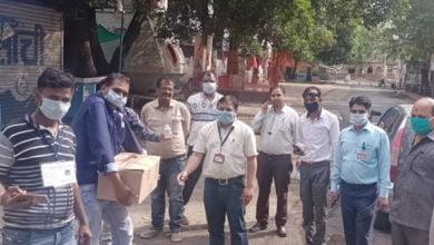 Photo of मध्य प्रदेश उपभोक्ता कल्याण संघ द्वारा3000 सैनिटाइजर की बोतल उपलब्ध करवाई गई