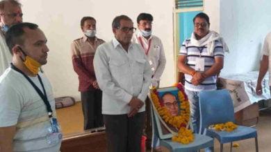 Photo of बाबा साहब अंबेडकर की १२९ वी जयंती मनाई