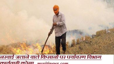 Photo of नरवाई जलाने वाले किसानों पर पर्यावरण विभाग कार्यवाही करेगा
