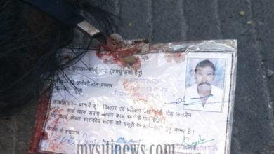 Photo of ओवर ब्रिज पर दर्दनाक सड़क हादसा सरकारी कर्मचारी की मौके पर मौत।