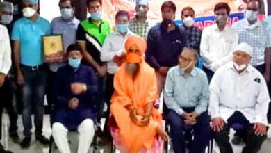 Photo of भारत विकास परिषद विक्रमादित्य ने किया  नगर के कोरोना योद्धा डॉक्टरों का सम्मान