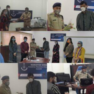 इंदौर नारकोटिक्स विंग ने सोशल मीडिया पर चलाया ड्रग्स के खिलाफ जन जागृति अभियान