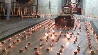 Photo of राम मंदिर निर्माण की खुशी मेंमहाकाल  में 1100 दीप जलाकर मनाई गई दीवाली