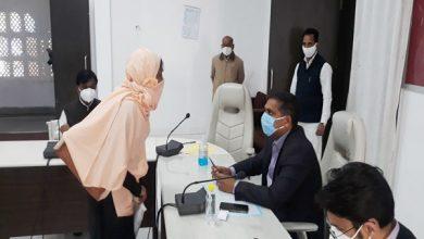 Photo of जनसुनवाई प्रारम्भ,  70 से अधिक आवेदकों ने अपनी शिकायतें कलेक्टर के समक्ष रखी